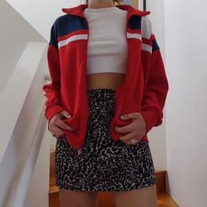 Thrifted Colorblock Jacket